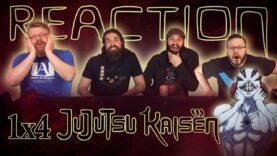 Jujutsu Kaisen 1×4 Reaction