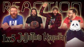 Jujutsu Kaisen 1×5 Reaction