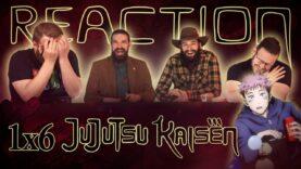 Jujutsu Kaisen 1×6 Reaction