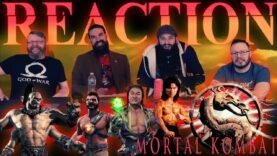 Mortal Kombat 1995 Movie Reaction