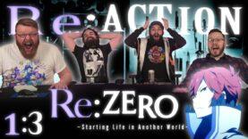 Re:Zero 1×3 Reaction