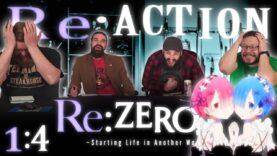 Re:Zero 1×4 Reaction