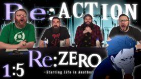 Re:Zero 1×5 Reaction