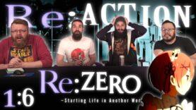Re:Zero 1×6 Reaction