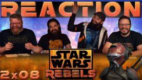 Star Wars Rebels Reaction 2×8