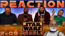 Star Wars Rebels Reaction 2×9