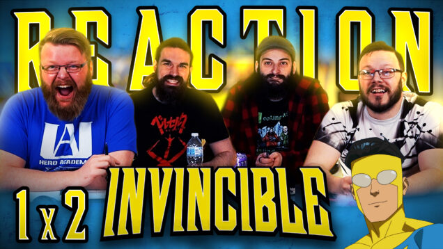 Invincible 1×2 Reaction Thumbnail
