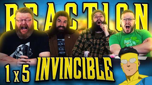 Invincible 1×5 Reaction Thumbnail