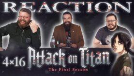 Attack on Titan 4×16 Reaction