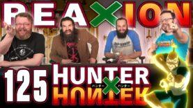 Hunter x Hunter 125 Reaction