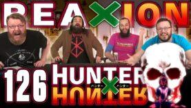 Hunter x Hunter 126 Reaction