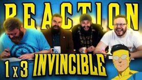 Invincible 1×3 Reaction