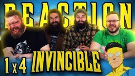 Invincible 1×4 Reaction
