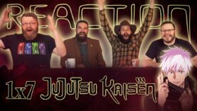 Jujutsu Kaisen 1×7 Reaction