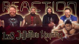 Jujutsu Kaisen 1×8 Reaction