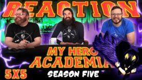 My Hero Academia 5×5 Reaction