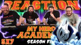 My Hero Academia 5×7 Reaction