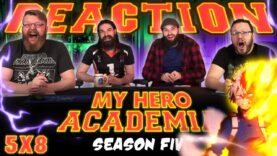 My Hero Academia 5×8 Reaction