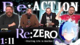 Re:Zero 1×11 Reaction