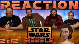 Star Wars Rebels Reaction 2×12