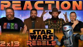 Star Wars Rebels Reaction 2×13