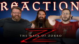 The Mask of Zorro Movie Reaction