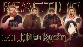 Jujutsu Kaisen 1×11 Reaction