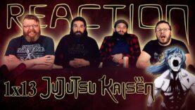 Jujutsu Kaisen 1×13 Reaction