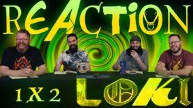 Loki 1×2 Reaction