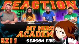 My Hero Academia 5×11 Reaction