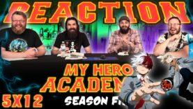 My Hero Academia 5×12 Reaction