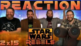 Star Wars Rebels Reaction 2×15