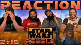 Star Wars Rebels Reaction 2×16