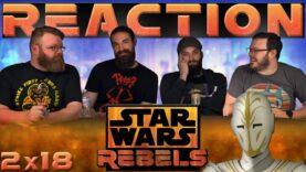 Star Wars Rebels Reaction 2×18