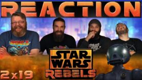 Star Wars Rebels Reaction 2×19