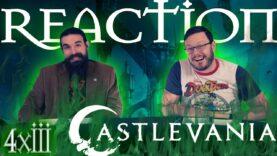 Castlevania 4×3 Reaction