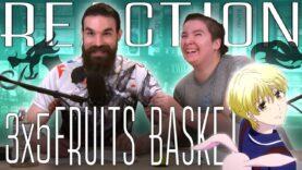 Fruits Basket 3×5 Reaction