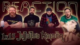 Jujutsu Kaisen 1×15 Reaction