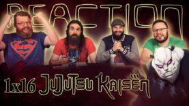 Jujutsu Kaisen 1×16 Reaction