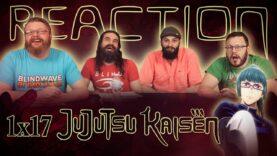 Jujutsu Kaisen 1×17 Reaction