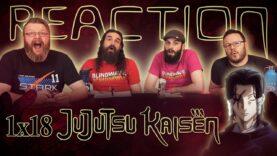 Jujutsu Kaisen 1×18 Reaction