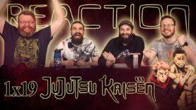 Jujutsu Kaisen 1×19 Reaction