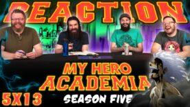 My Hero Academia 5×13 Reaction