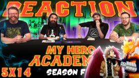 My Hero Academia 5×14 Reaction