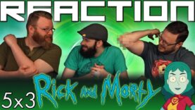 Rick and Morty 5×3 Reaction