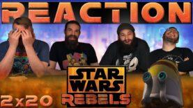 Star Wars Rebels Reaction 2×20