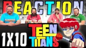 Teen Titans 1×10 Reaction