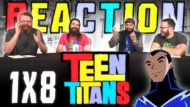Teen Titans 1×8 Reaction