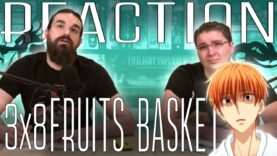 Fruits Basket 3×8 Reaction