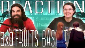 Fruits Basket 3×9 Reaction